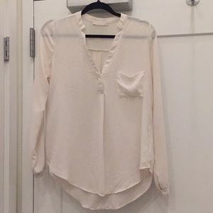 Lush Cream blouse